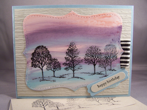 Lovely As a Tree Stampin' Up!