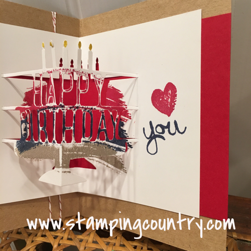 Pop Up Birthday Card