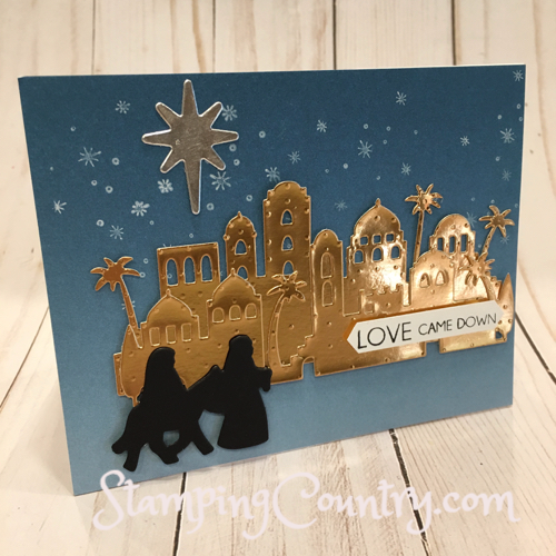 Night in Bethlehem Stampin' Up!S