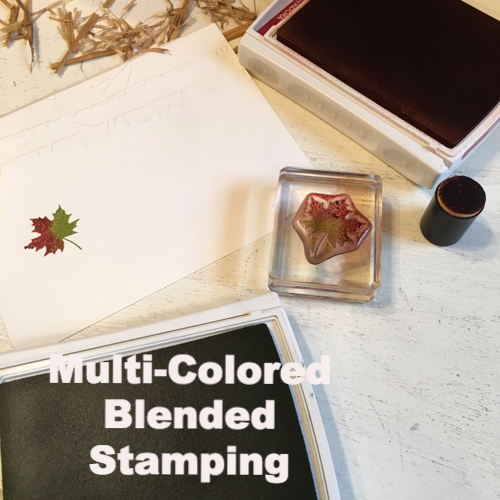 Multi-Colored Blended Stamping