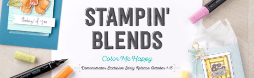 Stampin' Blends Stampin' Up! Demonstrator