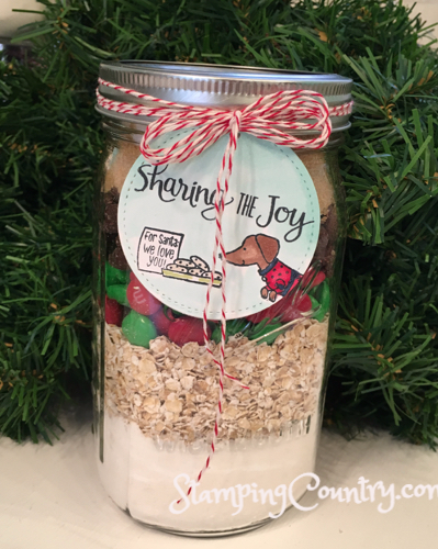 Ready for Christmas Cookies in a Jar