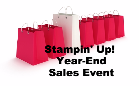 Stampin' Up! Year-End Sales Event