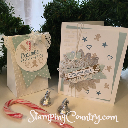 The Little Things Stampin' Up!