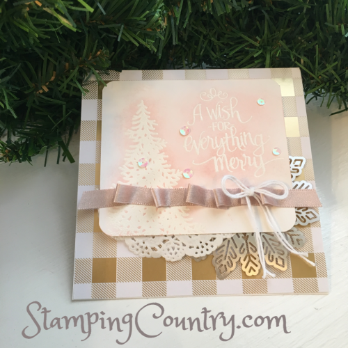 Ready for Christmas Stampin' Up!