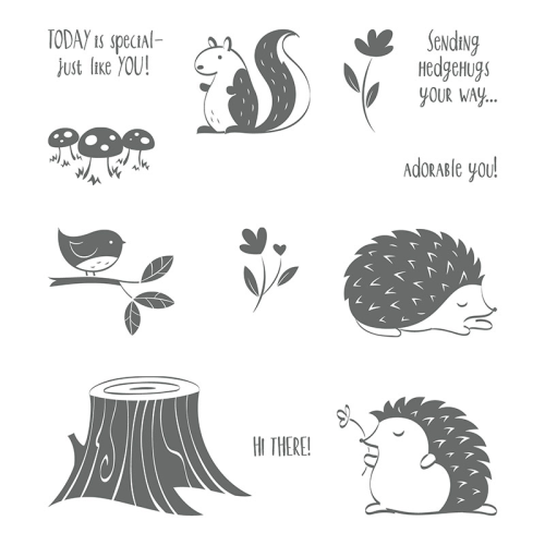 Hedgehugs Stampin' Up!