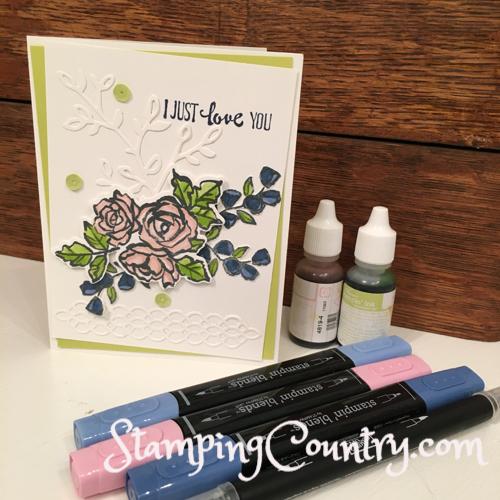 Petal Palette Card Idea
