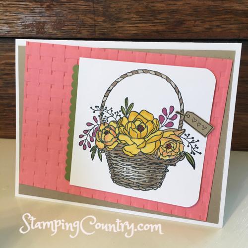 Blooming Basket Stampin' Up!