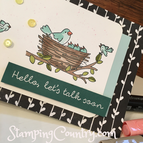 Flying Home Stampin' Up!