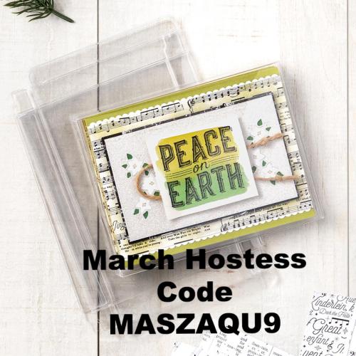 March Hostess Code
