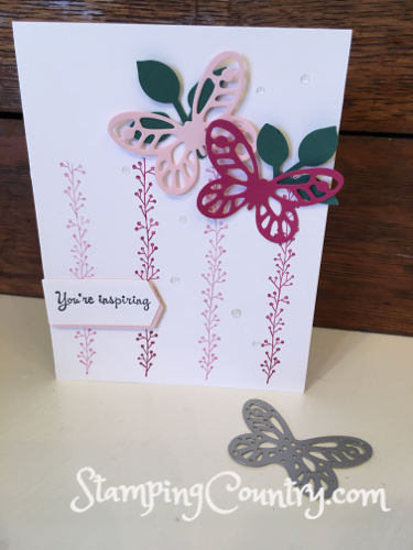 Bold Butterfly Stampin' Up!