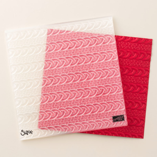 Cable Knit Dynamic Impressions Emboss Folder