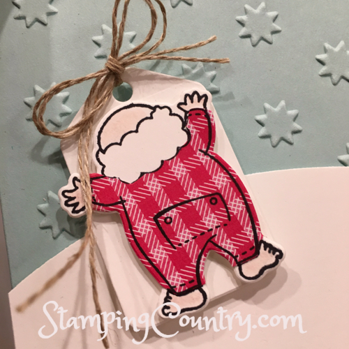 Santa's Suit Stampin' Up!