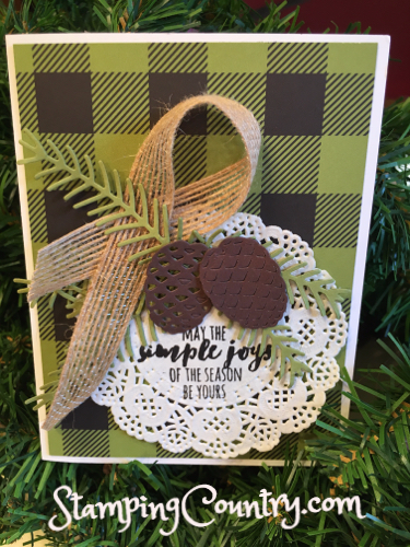 Pretty Pines Stampin' Up!