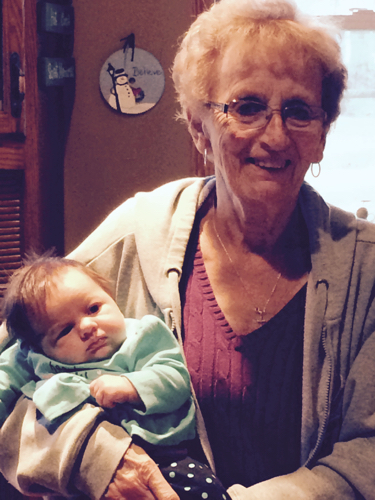 Brooke and Great Grandma