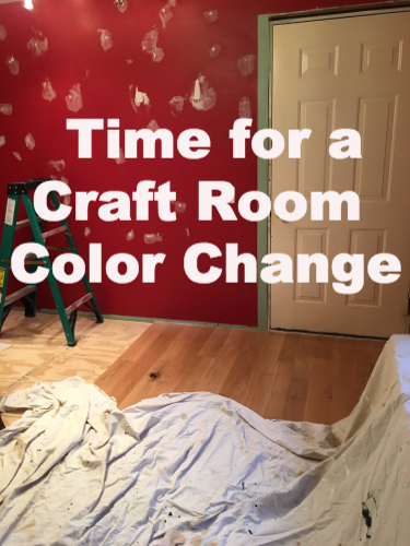 Craft Room Color Change