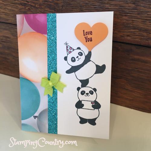 Party Pandas Stampin' Up!