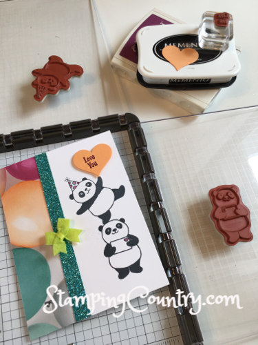 Party Pandas Stampin' Up!