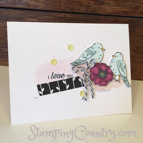 Color Me Happy Stampin' Up!