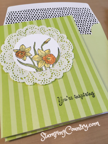 You're Inspiring Stampin' Up!