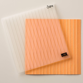 Simple Stripes Textured Impressions Emboss Folder