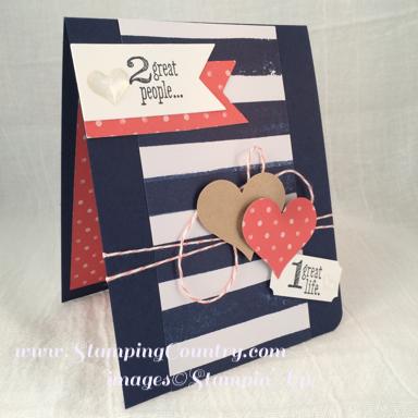 Handmade anniversary card stamping country handmade anniversary card thecheapjerseys Images