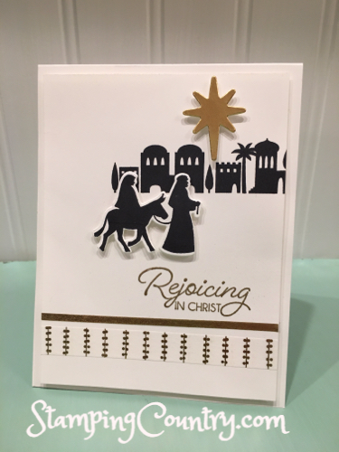 Night in Bethlehem Stampin' Up!
