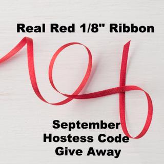 Real Red Ribbon Hostess Code Give Away