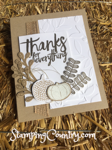 Pick a Pumpkin Stampin' Up!