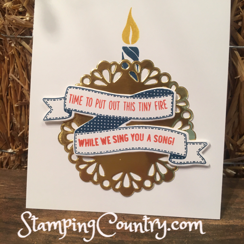 Birthday Banners Stampin' Up!