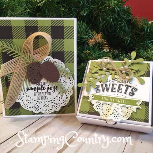 Handmade Christmas Card & Gift Box