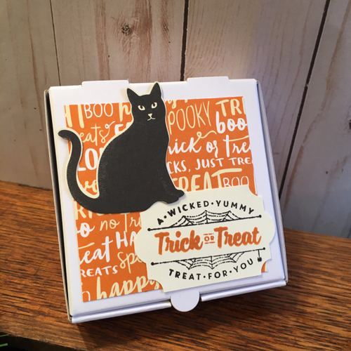 Trick or Treat Mini Pizza Box Ann Bloomfield