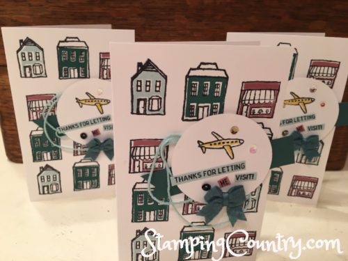 In the City Stampin' Up!