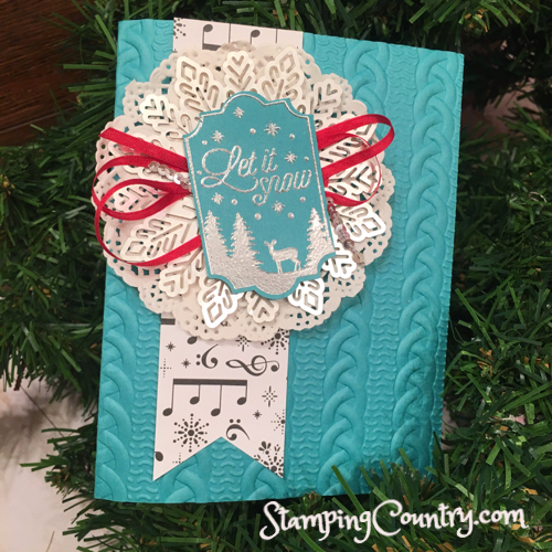 Merry Little Labels Stampin' Up!