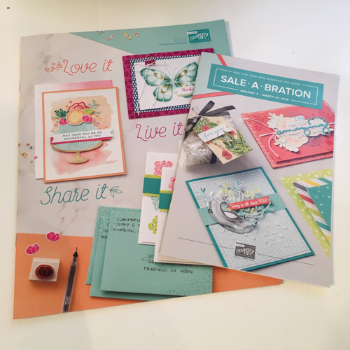 Stampin' Up! Occasions & Sale-a-Bration Catalogs