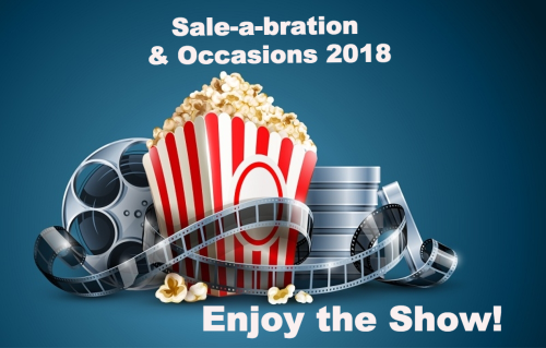 Sale-a-bration & Occasions 2018