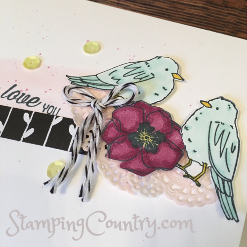 Color Me Happy & Stampin' Blends
