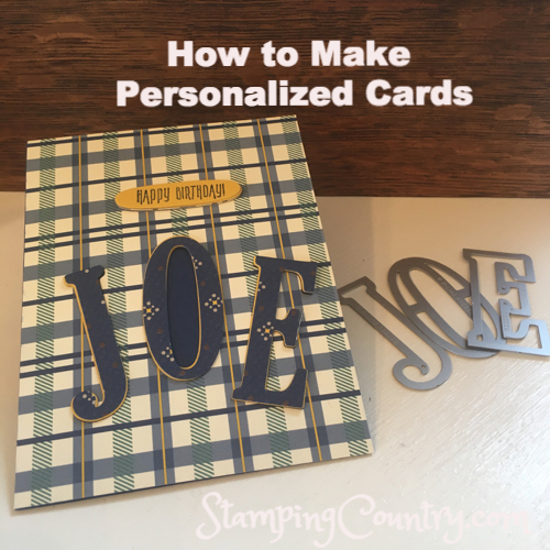How to Make Personalized Birthday Cards