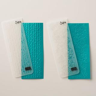 Petal Pairs Textured Impressions Emboss  Folders