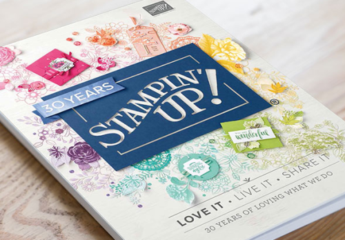 2018 Stampin' Up! Annual Catalog