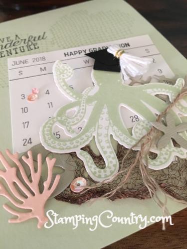 How to Make Octopus Graduation Cap Card