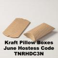Kraft Pillow Boxes
