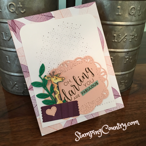 Animal Outing & Stitched Labels Stampin' Up!