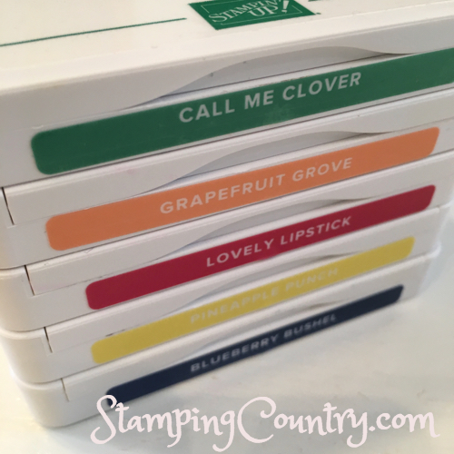 2018-2019 Stampin' Up! In Colors