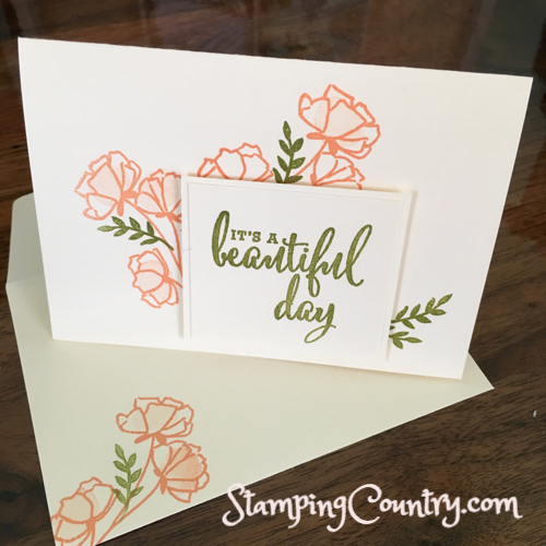 Just Getting Started Card Making