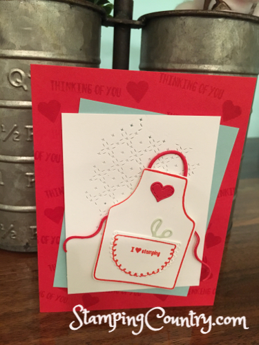 Apron of Love Stampin' Up!