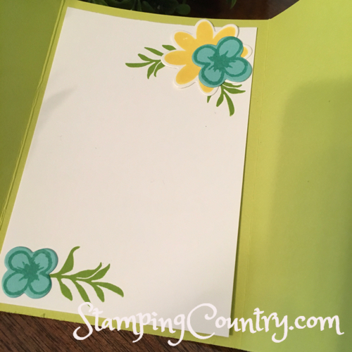 Bouquet Blooms Stampin' Up!