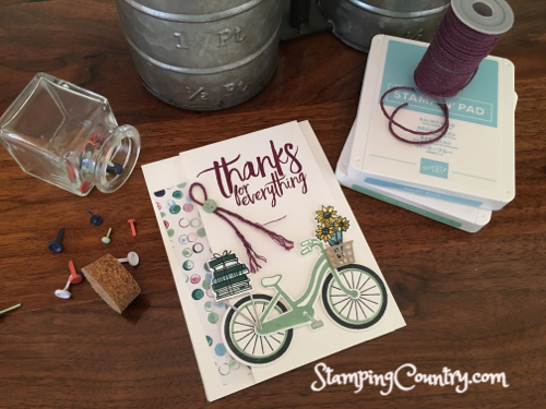 Bike Ride Stampin' Up!