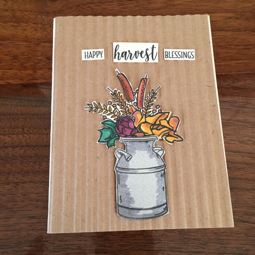 Country Home Card by Lori Ballitch