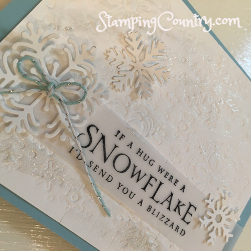 Beautiful Blizzard Stampin' Up!StampingCountry.com